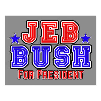 Jeb Bush for President Postcard