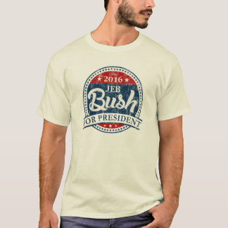 Jeb Bush For President T-Shirt