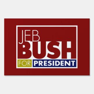Jeb Bush for President V1 Signs