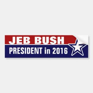 Jeb Bush in 2016 Bumper Sticker