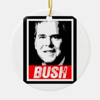 JEB BUSH INK BLOCK-.png Christmas Tree Ornaments