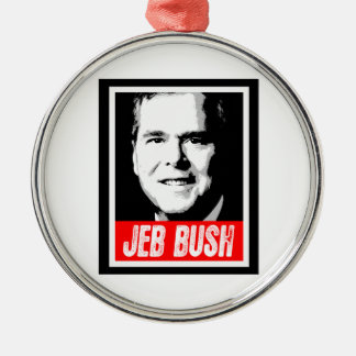 JEB BUSH INK BLOCK -.png Christmas Tree Ornament