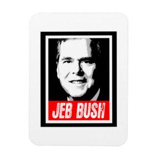 JEB BUSH INK BLOCK -.png Rectangular Photo Magnet