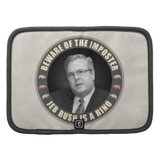 Jeb Bush Is A RINO Folio Planners