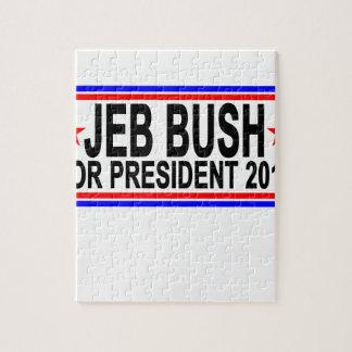 JEB BUSH PARA el PRESIDENTE 2016 camisetas .png Rompecabeza