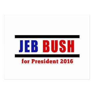 Jeb Bush para el presidente en 2016 Postales