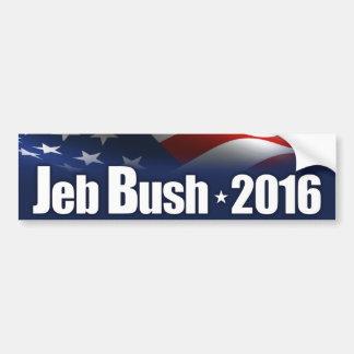 Jeb Bush para el presidente Pegatina Para Auto