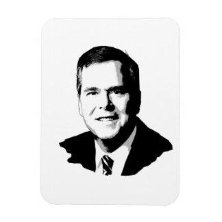 Jeb Bush -.png Rectangular Photo Magnet