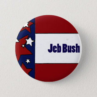 Jeb Bush Political Designs Pinback Button