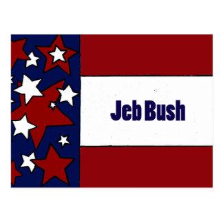 Jeb Bush Political Designs Postcard
