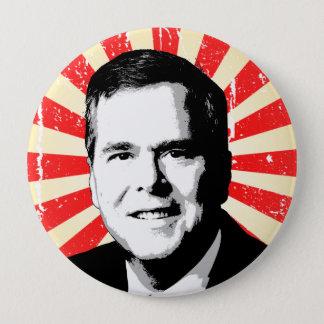 Jeb Bush Portrait Button