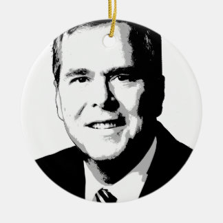 Jeb Bush Portrait Ornament