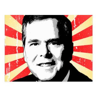Jeb Bush Portrait Postcard