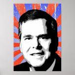 Jeb Bush Portrait Print