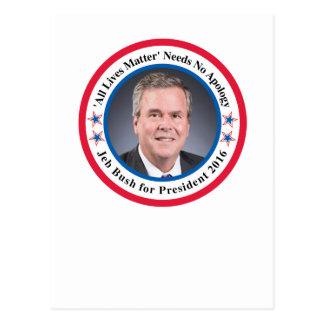 Jeb Bush Postcard