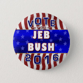 Jeb Bush President 2016 Election Republican Button