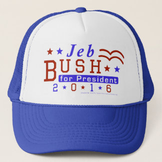 Jeb Bush President 2016 Election Republican Trucker Hat