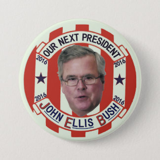 Jeb Bush President 2016 Pinback Button