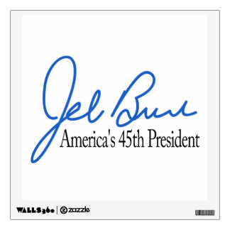 Jeb Bush Presidential Candidate 2016 Room Sticker