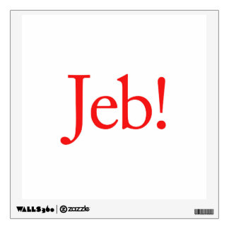 Jeb Bush Presidential Candidate 2016 Room Decals