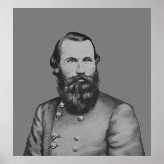JEB Estuardo -- General confederado Póster