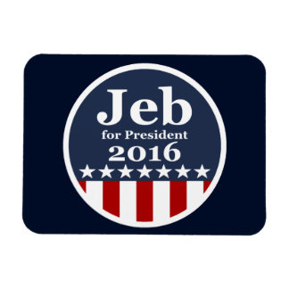 Jeb for President 2016 Campaign Fridge Magnets