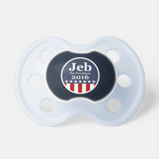 Jeb for President 2016 Pacifier