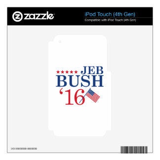 Jeb For President Decal For iPod Touch 4G