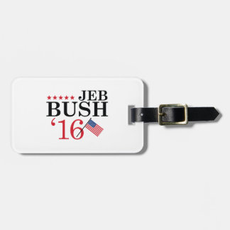 Jeb For President Luggage Tag