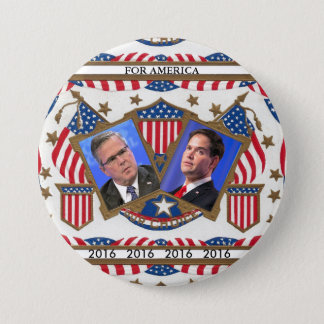 Jeb & Marco for 2016 Button