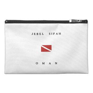 Jebel Sifah Oman Scuba Dive Flag Travel Accessories Bags