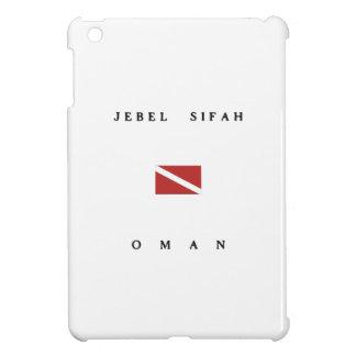 Jebel Sifah Oman Scuba Dive Flag iPad Mini Case