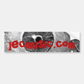 jecmusic.com car bumper sticker