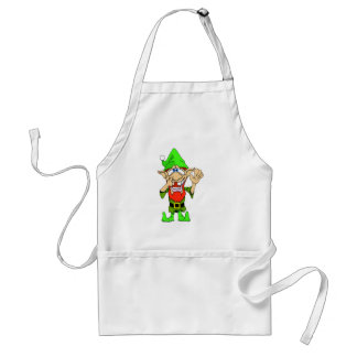 Jed the Twisted Elf Adult Apron