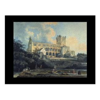 Jedburgh Abbey by Thomas Girtin Postcard