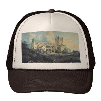Jedburgh Abbey by Thomas Girtin Trucker Hat