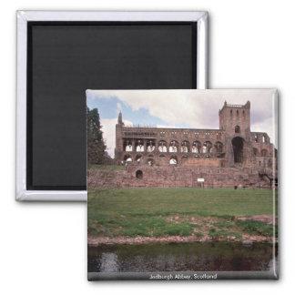 Jedburgh Abbey, Scotland 2 Inch Square Magnet