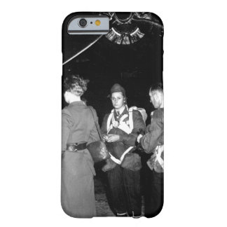 Jedburghs in front of B-24 just_War Image Barely There iPhone 6 Case