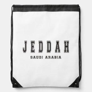 Jedda la Arabia Saudita Mochilas