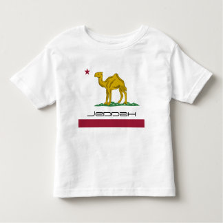 Jeddah not California Republic Toddler T-shirt