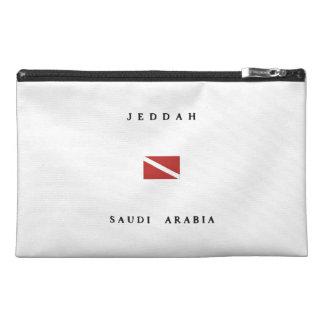 Jeddah Saudi Arabia Scuba Dive Flag Travel Accessory Bag