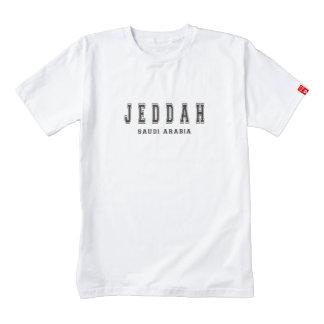 Jeddah Saudi Arabia Zazzle HEART T-Shirt