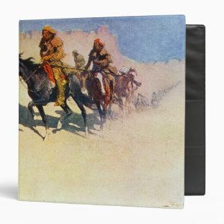 Jedediah Smith making his way across the desert Binder