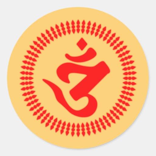 Jedi Warrior Round Sticker