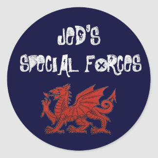 JED'S, SPECIAL FORCES stickers