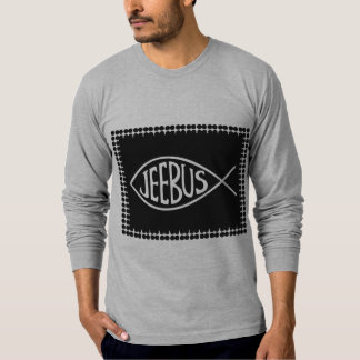 Jeebus Fish Shirt