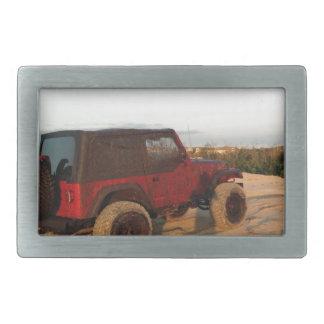 Jeep Rectangular Belt Buckle