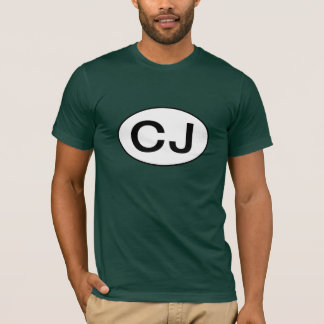 Jeep CJ Oval T-Shirt