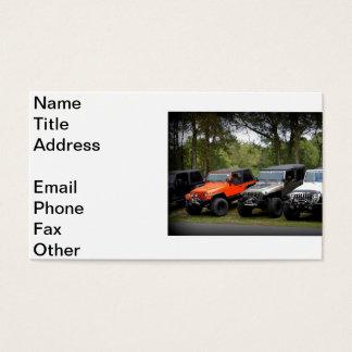 Jeep Club Business Card