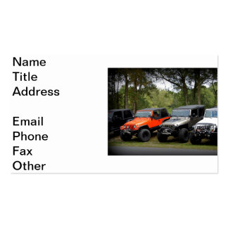 Jeep Club Double-Sided Standard Business Cards (Pack Of 100)